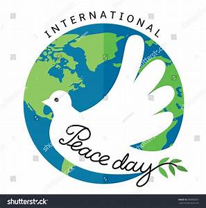 International Day Of Peace. Flat Style Vector Illustration ...