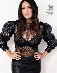 Salma Hayek - Elle Magazine France July 2017 Issue