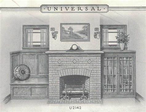 Historic Patterns For Fireplace Surrounds Arts Crafts