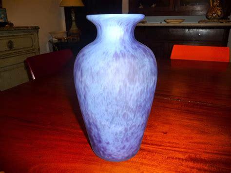 vase pate de verre la roch 232 re vase p 226 te de verre deco ebay