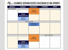 Practical Guidelines For Scheduling Scrum Events — Agile