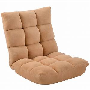 Floor, Chairs, With, Back, Support, For, Adults, Adjustable, Folding, Lazy, Sofa, Chair, Great, For, Reading