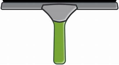 Window Squeegee Clipart Cleaner Clip Clean Cleaning