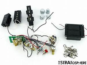 Fender Deluxe Active Precision P Bass Pickups Pots Knobs