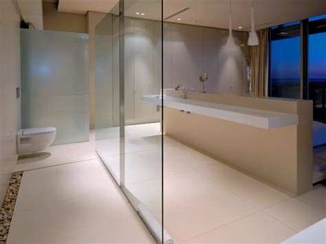 basement bathroom design  minimalist style  home ideas