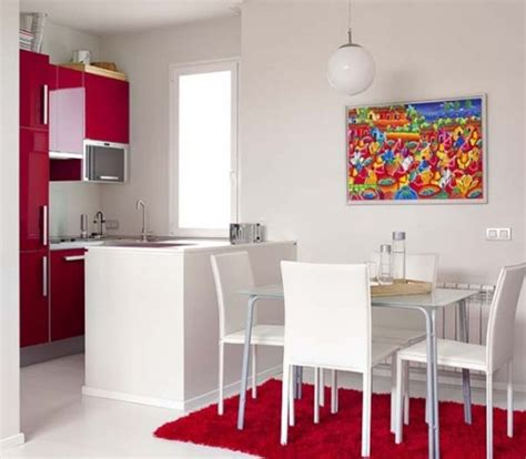 disenos de comedor  cocina juntos  espacios pequenos