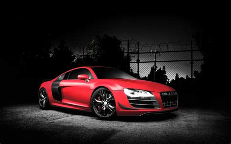 Red Audi R8 Gt Wallpapers