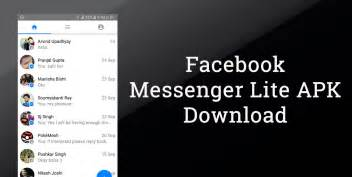 messenger lite apk for android version