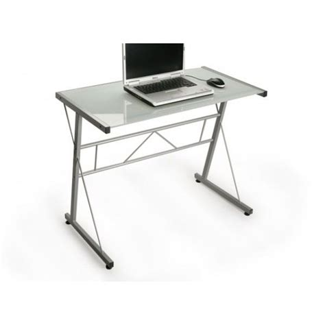 meuble bureau verre meuble informatique design dubai verre blanc achat