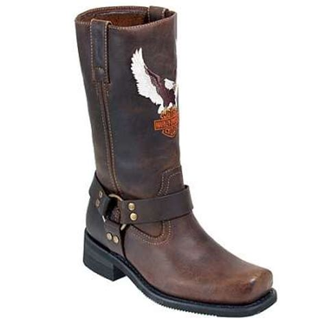 brown motorcycle boots for men harley davidson harness 91001 men 39 s brown motorcycle boot