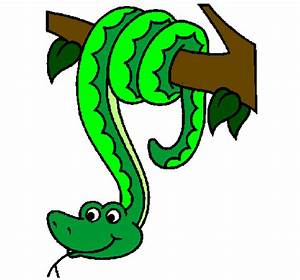 Serpent clipart hanging - Pencil and in color serpent ...