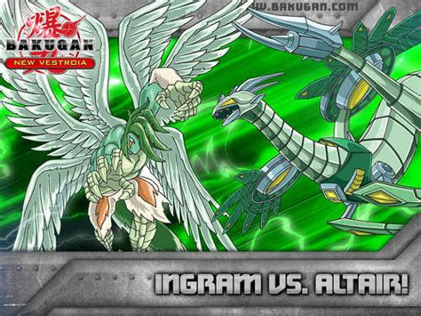 bakugan vestroia images ingram and altair hd