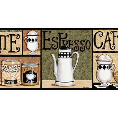 coffee themed kitchen wallpaper border magazines