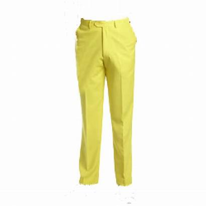 Pants Yellow Trousers Clipart Pant Casual Tracksuit