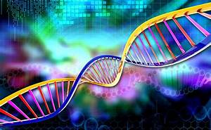 Red Gene In Dna Stock Illustration  Illustration Of