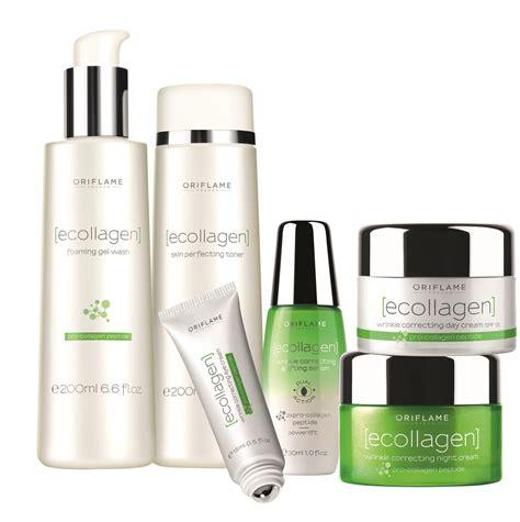 ecollagen skin care routine  oriflame