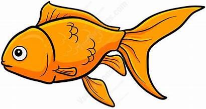 Goldfish Clipart Swim Cartoon Animals Fish Animal