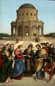 the marriage of the raphael milan religious