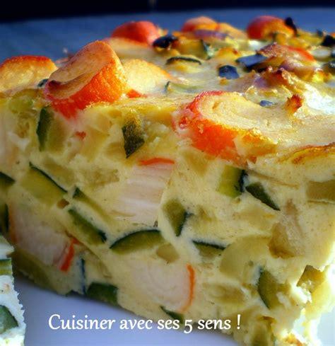 cuisiner des courgettes poele flan de courgettes et de surimi cuisiner avec ses 5 sens