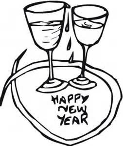 disegni di bicchieri bicchieri capodanno disegni gratis disegni