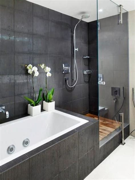 Modern Bathroom And Shower by 30 Luxury Shower Designs Demonstrating Trends In