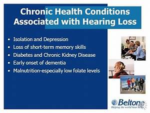 The Relationship Between Hearing Loss And Other Chronic