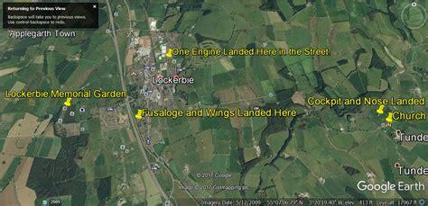 Lockerbie Disaster Map  Images All Disaster Msimagesorg