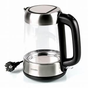 Wasserkocher Mit Led : wasserkocher 1 7l glask rper mit edelstahl 2200 watt led ~ Buech-reservation.com Haus und Dekorationen