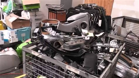 sold  sq ft oem auto parts warehouse youtube