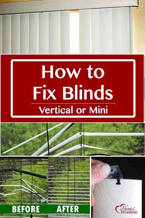 Diy Fixing A Broken Window Blinds  Bent Mini Blind Tool