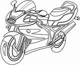 Coloring Clip Clipart Clipartpanda Motorcycle Colouring Line Panda Terms sketch template