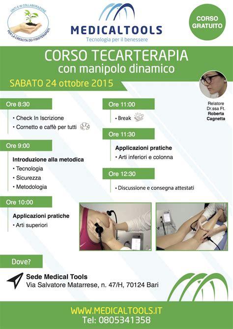 Costo Seduta Tecarterapia Corso Tecarterapia Con Manipolo Dinamico Workshop
