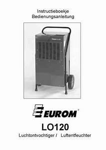 Eurom Lo120 Air Cleaner   Air Purifier   Air Humidifier