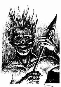 Harginn  Or Flame Horror  An Elemental Grue From The Plane
