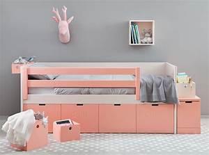 Lit Fille Ikea : chambre fille liso box belle et pratique asoral so nuit ~ Premium-room.com Idées de Décoration