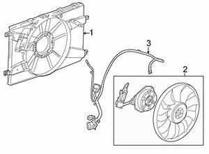Buick Verano Engine Cooling Fan Motor  Liter  Radiator