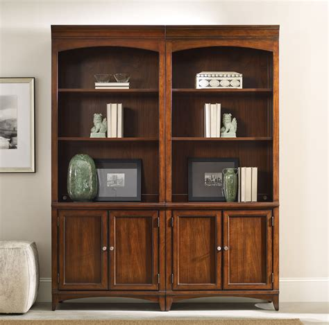 Aico Bar Stools by Latitude Bookcase By Hooker Furniture Hooker Bookcases