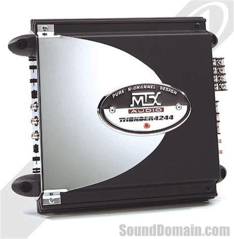 Mtx Channel Car Audio Amplifier Excellent Condition