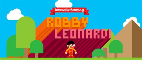 Interactive Resume Robby Leonardi by Robby Leonardi Cv The Coolector