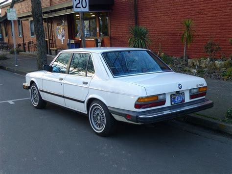 1986 Bmw 535i by Curbside Classic 1986 Bmw 535i Whitewalls On An E28