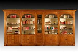Meuble Bibliothèque Bois : meuble biblioth que sur mesure en bois massif meubles en bois massif meubles doudard ~ Teatrodelosmanantiales.com Idées de Décoration