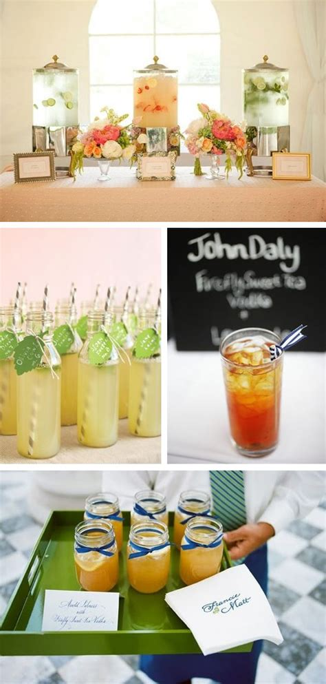 signature wedding drink ideas images  pinterest