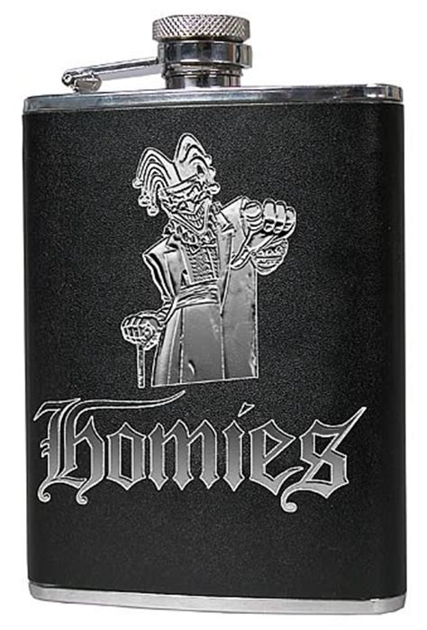 Homies 2004 Jokawild Flask  Neca  Homies  Barware At