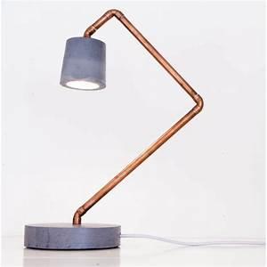 Lampe De Chevet Cuivre : lampe cuivre design lampe chevet marchesurmesyeux ~ Teatrodelosmanantiales.com Idées de Décoration
