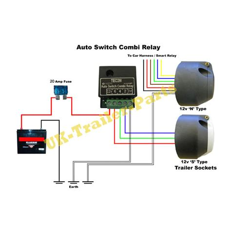 amp  type  tecm  switching dual charge relay