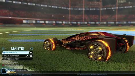 Best Looking Car In Rocket League