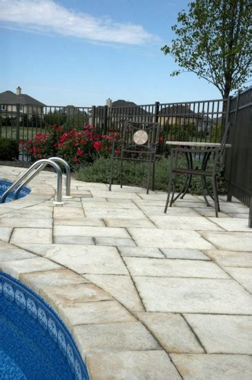 unilock yorkstone unilock pool deck with yorkstone paver photos