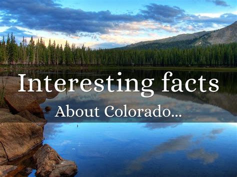 co fact 7 how reliable interesting facts about colorado by sydney head
