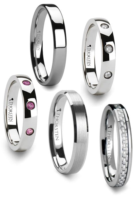 tungsten wedding bands for wedding and bridal inspiration