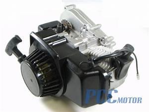 49cc Engine W  Transmission Pocket Mini Atv Bike Scooter